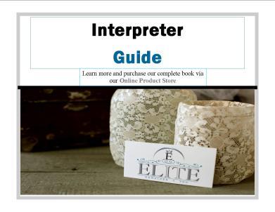 Interpreter eGuide