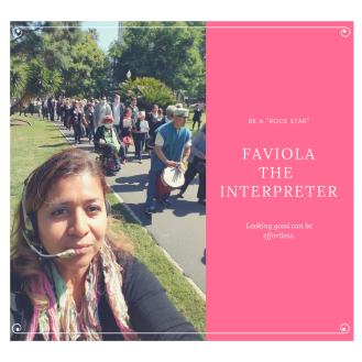 - the interpreter -